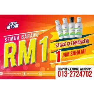 Tester RM 1 SAHAJA !!!
