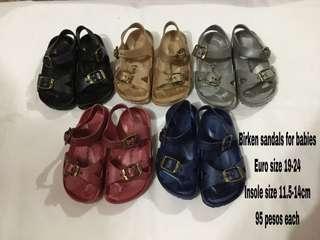 Birken sandals for kids