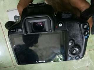 canon kiss x7 / 100D + lensa kit 18-55 is