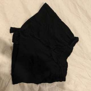Black boutique shorts