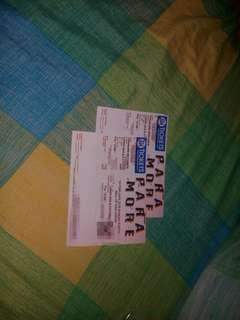 Paramorw Tickets