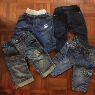 Bundle Of Baby Boy Jeans from UK some new 3-6m