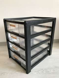 Toyogo T701-4 4 Tier A4 Drawer
