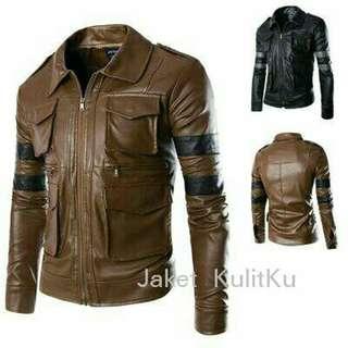 Jaket pria kulit