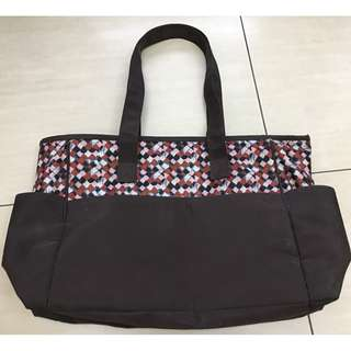 baby bag with side pockets set