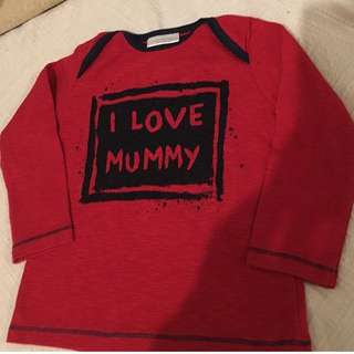 NEXT UK Baby T Shirt 3-6m