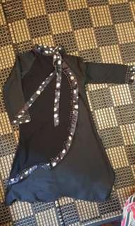 Abaya black from mecca