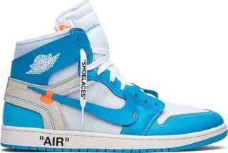 Nike off white jordan1 正貨 美國通路