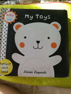Baby first book-my toys