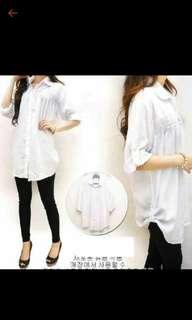 Kemeja / blouse putih