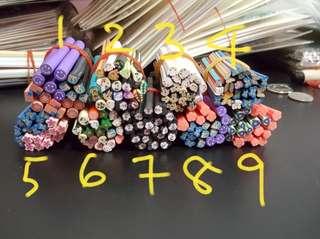 Fimo Canes Sticks 20pcs