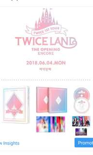 TWICE THE 1ST TOUR TWICELAND ENCORE DVD