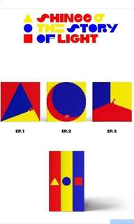 SHINee 6TH ALBUM - THE STORY OF LIGHT EP2