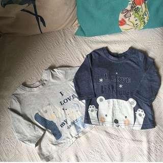 George UK Baby Boy Top Shirt 3-6m