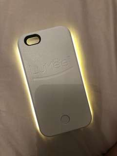 Lumee light selfie case