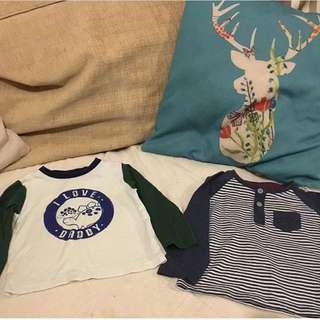 TU UK Baby Boy Shirts 6-9m Some New