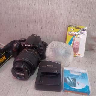 Nikon D3100DSLR