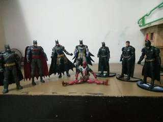 Batman collections w free deadpool