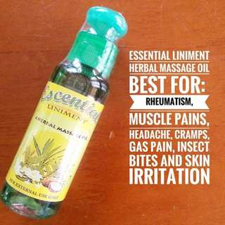 Essential Liniment oil