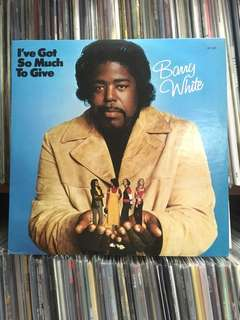 """VINYL - Barry White """"I've Got So Much To Give"""" (1974)"""