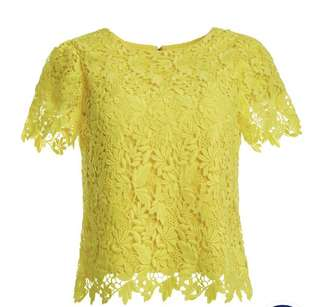 Alice and Olivia Lace Top