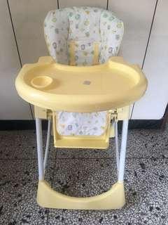 兒童可調式餐椅