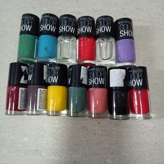 Maybelline Nail Polish Color Show