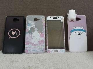 Samsung J7 Prime Cases (set)