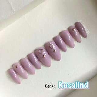 Press on nails - Rosalind