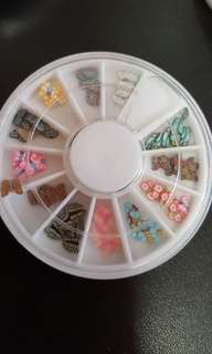 Clearance Sales- Fimo canes Slices In Wheel