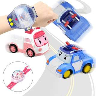 Robocar Poli Watch with Remote Control Car Toy Children's toys Gift