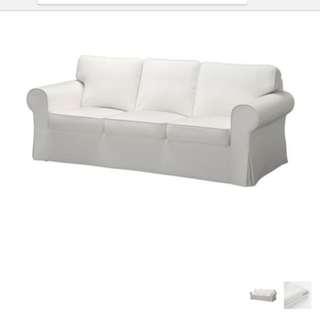 Ikea Ektorp Sofa Cover - 3 seater