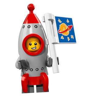Lego series 27 rocket boy
