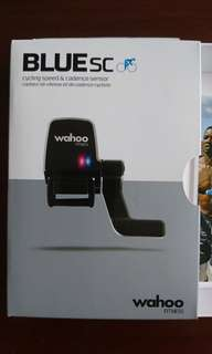 Wahoo Blue SC cycling speed and cadence sensor