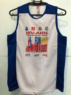 Singlet from a Funrun for a cause—Medium