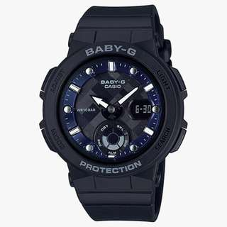 Baby-G BGA-250 Analog-Digital Beach Style