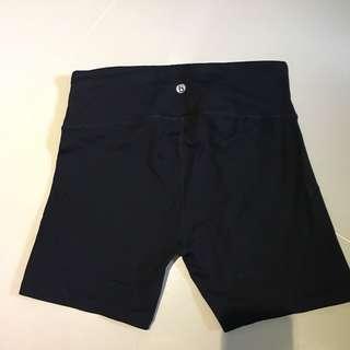 Cotton On black cycling shorts