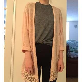 Forever21 Crochet Cardigan