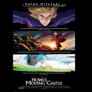 [Rent-A-Movie] HOWL'S MOVING CASTLE (2004) [MCC004]
