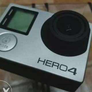Go Pro Hero 4 Silver Ed.