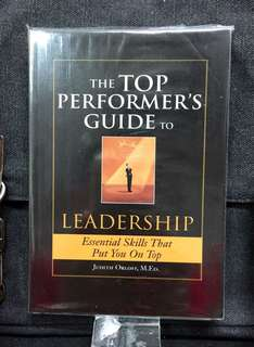 《New Book Condition + How The Great Leadrrship Makes Impact》Judith Orloff - THE TOP PERFORMER'S GUIDE TO LEADERSHIP : Essential Skills That Put You On Top