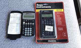 (CFA Approved) Texas Instruments Calculators for Finance