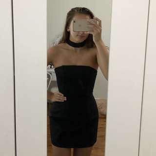 Black Choker Dress S6