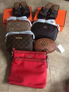 ONHAND!! Coach sling, LV, Hermes and Gucci