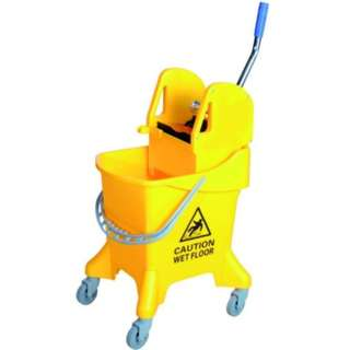 Single Wringer Bucket (Down Press) SWB-387 Yellow (item no:G01-529)