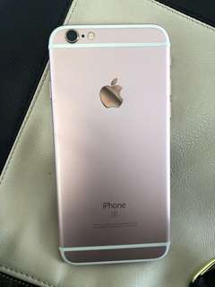 iPhone 6S 64GB Rose Gold- cracked screen but otherwise perfect condition