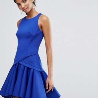 (PO) Pleat Precision Dress