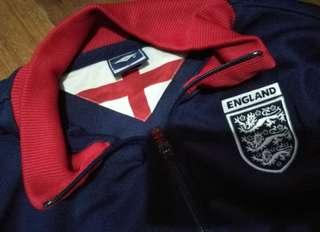 Navy blue England Football Jacket