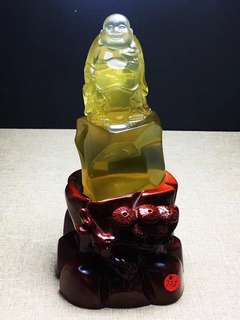 2⃣️ Natural yellow crystal maitreya