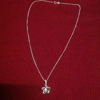 Genuine 925 Italy Silver Necklace